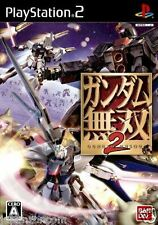 Used PS2  Gundam Musou 2 SONY PLAYSTATION JAPAN IMPORT