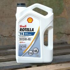 ROTELLA T4 15W40 HEAVY DUTY MOTOR OIL T 1 GALLON BOTTLE  -- FAST FREE SHIPPING!