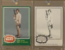 1977 LUKE SKYWALKER TOPPS VAULT Separation Proof Star Wars Card RC & COA #255
