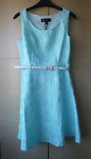 BNWOT, PRETTY, PALE BLUE, SLEEVELESS, SKATER DRESS BY MELA - UK 10
