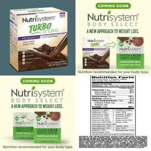 Nutrisystem Turbo Chocolate Shake Mix, 1.4 Oz, 20 Packets