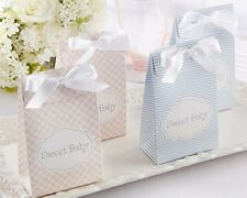 24 Sweet Baby Pink or Blue Candy Bags Baby Shower Favors