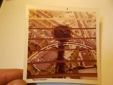 VINT COLOR SNAPSHOT PHOTO, SHADOW OF SPACE NEEDLE, SEATTLE WORLDS FAIR, ABTRACT!