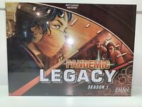 NEW Pandemic Legacy Season 1 Red Cooperative Z-Man Board Game 2-4 Players 14+