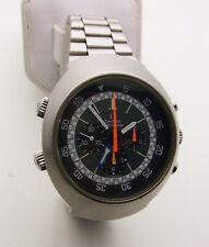 Vintage 1970's Stainless Omega Flightmaster Chronograph 145.036
