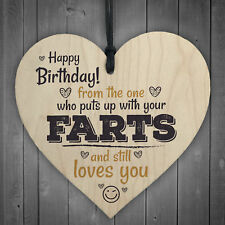 Funny Love You Happy Birthday Heart Boyfriend Girlfriend Man Wife Thank You Gift