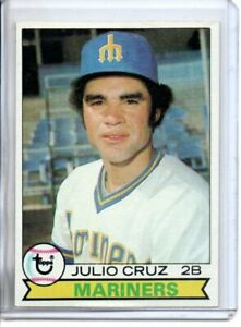 1979 TOPPS JULIO CRUZ (NM-NM/MT)