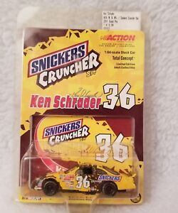 Action Limited Edition Snickers Ken Schrader 36 1:64 Scale Die Cast Race Car