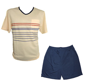 Men's Shorty Pyjama Short Various Colours Size M L XL XXL