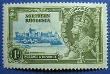 1935 NORTHERN RHODESIA 1d SCOTT# 18 VARIETY S.G.# 18f UNUSED             CS09171
