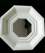 NEW wooden octagon Wall Mirror