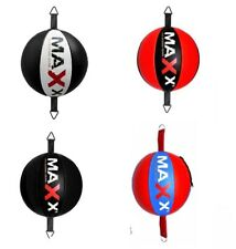 New Leather Double End Dodge Speed Ball MMA Boxing Floor to Ceiling MMA Pads Bag