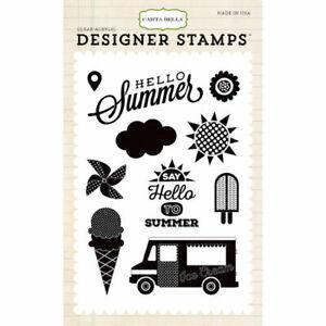 Carta Bella Stamps Soak Up The Sun