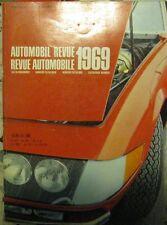 * Automobil-Revue  Katalog 1969 -  Catalogue Revue Automobile *