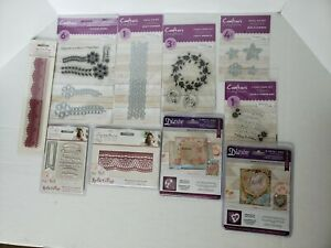 Crafter's Companion & Die'sire - Metal Die Sets, Clear Stamp Sets Lot of 10