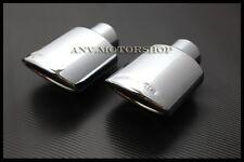 AMG STYLE EXHAUST TIP FOR MERCEDES BENZ W203 W202 W124 W208 W210 C E S CLK CLASS