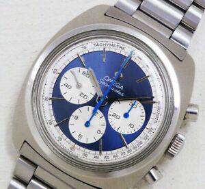 OMEGA Seamaster Chronograph 145.029 Cal.861 Manual Vintage Watch 1970's