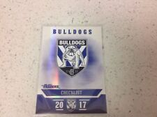 Canterbury Bulldogs 2017 Rugby League (NRL) Trading Cards