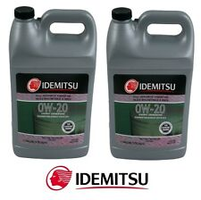 2 Gallon Pack 0W20 Synthetic SN/GF5 Engine Motor Oil for Acura for Honda 4-Mazda