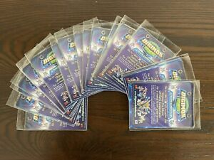 18 Lot- 2000 Digimon The Movie Promo Sweepstakes Cards Sealed Single Card Packs