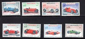 Monaco 1967 short set vintage cars SG 868-75 LMM