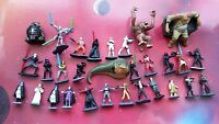 Star Wars Micro Machines Figure character Collection: Jedi Sith Vader Rancor Ren