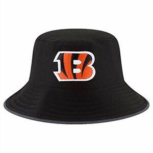 100% Authentic NWT New Era Cincinnati Bengals Adult Summer Training Bucket Hat