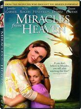 Miracles from Heaven DVD NEW 2016 Eugenio Derbez, John Carroll ! BRAND NEW