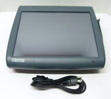 Micros Workstation Pcws2015 I5 E520 240ghz 4gb 423695 310e Pos System No Hdd