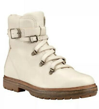 Timberland Women's Boot Company Riley Flair Hiker A21S2 White Ankle Boot SZ 7