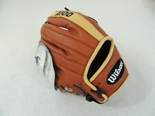 "2019 Wilson A500 11"" Youth Baseball Glove - RHT - Copper/Blonde/Black Top Grain"