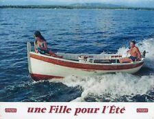 PASCALE PETIT MICHEL AUCLAIR UNE FILLE POUR L'ÉTÉ 1960 VINTAGE LOBBY CARD #6