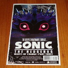 Sonic The Hedgehog #262 T-Rex Movie Poster Variant Edition 1st Print
