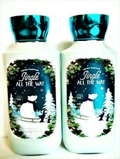 Bath Body Works JINGLE ALL THE WAY Body Lotion, 8 fl. oz., NEW x 2