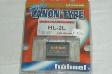 For CANON HL-2L 7,4V 570 mAh Batterie Battery AKKU Bateria HÄHNEL  NEUF