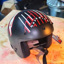 Top Gun Maverick Helmet Decal Set Fancy Dress Motorcycle Movie Prop