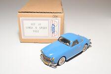 . ESDO MODELE KIT HAND BUILT 70 SIMCA 9 SPORT 1952 BLUE NEAR MINT BOXED