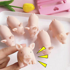 New listing Pet Supplies Chew Squeaker Rubber For Dog Toys Play Sound Pig Squeaky Chic