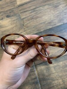 Authentic Ray Ban Vintage W3065 Tortoise Shell Rituals  glasses Frame's G31