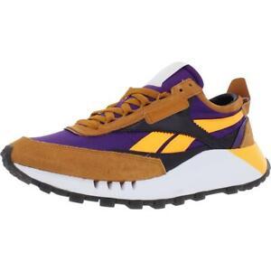 Reebok Mens Classic Legacy Orange Running Shoes Athletic 12 Medium (D) BHFO 1187
