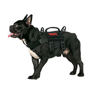 XS BLACK BEAST MOJO TACTICAL HARNESS ONETIGRIS DOG