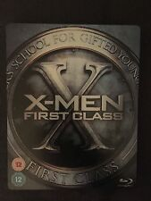 X-Men: First Class Blu-ray/DVD STEELBOOK Play.com VERY RARE!!! FREE SHIPPING!!