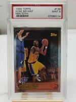 1996-97 Topps 50th FOIL Kobe Bryant #138 RC Rookie PSA 9 MINT NBA Card RARE 50