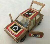 Corgi VW Polo Gold Rally Car