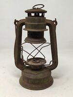 Antique Iron Kerosene Lantern by Sunshine Brand Oil Lightning Lamp Without Glass