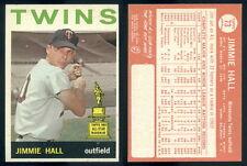 (49834) 1964 Topps 73 Jimmie Hall RC Twins-EM
