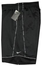 NEW NIKE BLACK SILVER BASKETBALL BOXING SHORTS 25 INCH OUTSEAM XL FITS 36 - 38