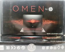 "HP OMEN 15-AX250WM 15.6"" 1080P IPS I7-7700HQ GTX 1050TI GAMING LAPTOP Brand New!"