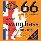 ROTOSOUND 4 STRING RS66LD STAINLESS STEEL ROUNDWOUND BASS GUITAR STRINGS 45-105 for sale