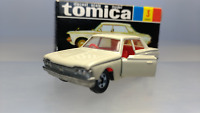 Tomy  Tomica  1:65  Reprint Black Box  Toyota Crown Super Deluxe  White  Used